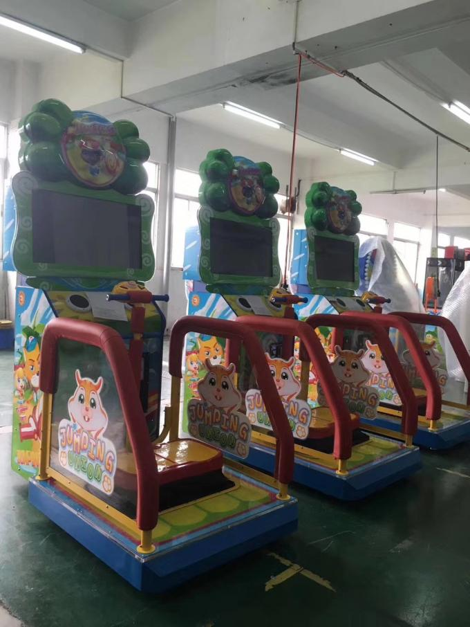 Jumping Union Video Arcade Machines Colorful Use In Indoor Amusement Games sport game