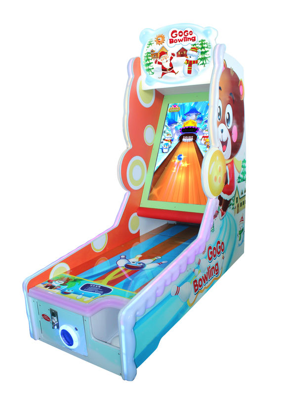 42 Inch Screen Bowling Coin Operated Arcade Game Machines Single Player