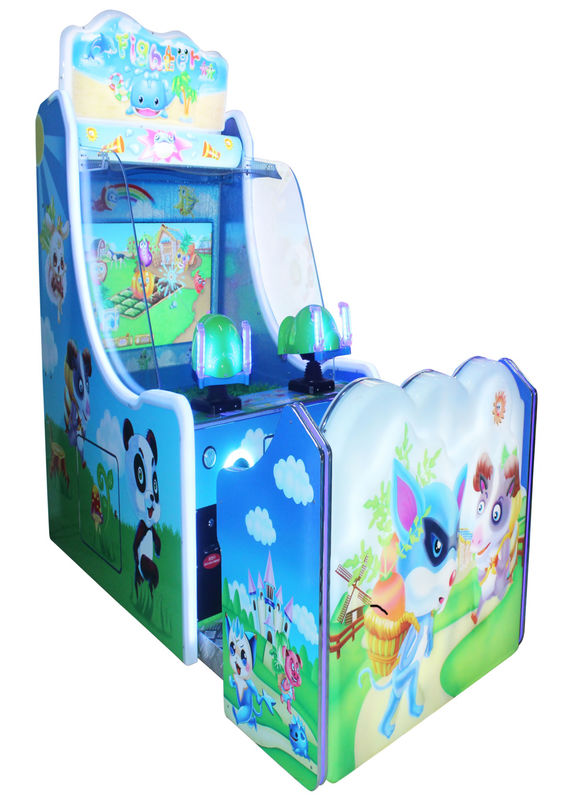 Coin Op Video Arcade Console Water Shooting Version Colorful LCD indoor game