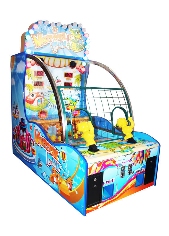 Nautical Fun Shooting Arcade Machine Two Players For Indoor Game Center