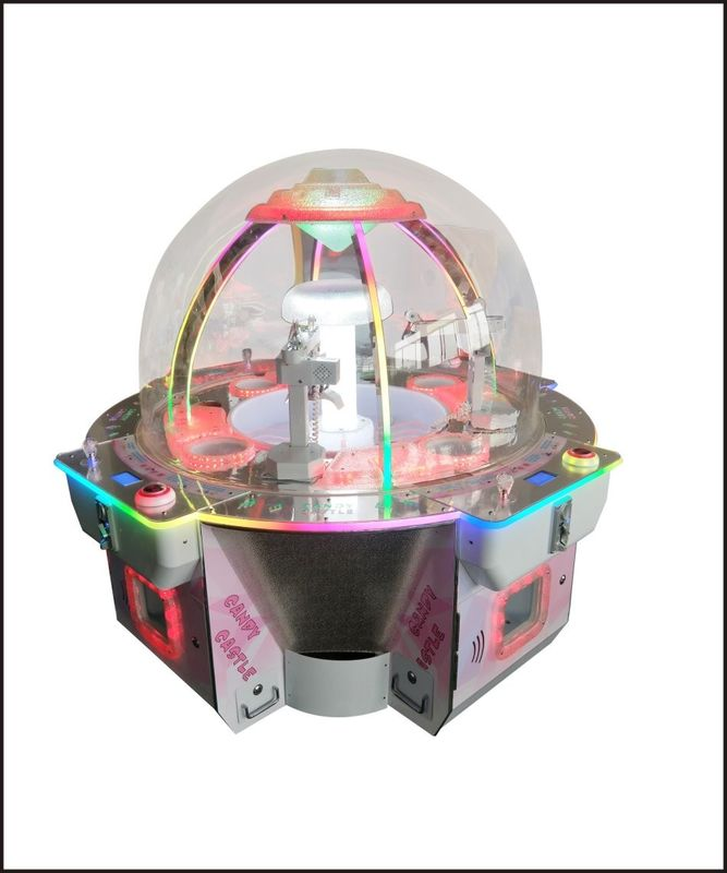 Candy Aastle Redemption Arcade Machines Catching Treasure For Children
