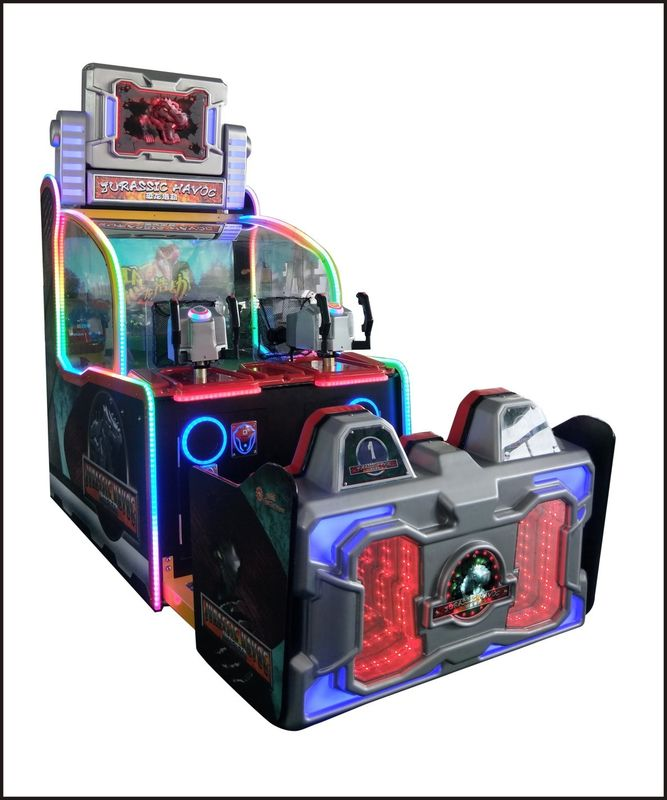 42 Inch HD Screen Coin Operated Redemption Arcade Machines Jurassic Havoc Shooting Ball Game
