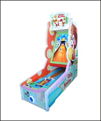 China Chrisma Theme Family Entertainment Center Games Simulating Real Bowling factory