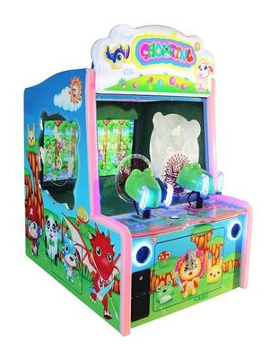 China Ball Shooting Coin Operated Pinball Machines Paradise Theme Optional 6 Games factory
