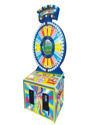 Lucky Turning Coin Operated Arcade Machines Attractive Wonderful Look