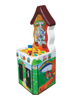 China Frog Prince Coin Operated Arcade Machines Colorful Durable Beautiful Shape factory