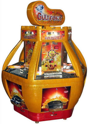 China Floor Standing Coin Operated Video Arcade Games Gloden Mine Amazing Image factory