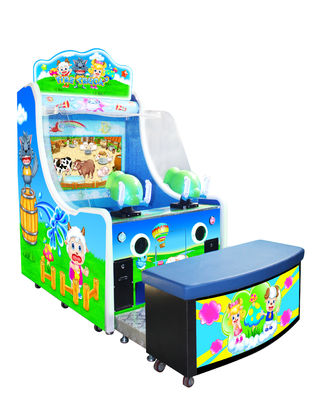 Cartoon Character FEC Games Coin Operated Crazy Shooting Arcade Machine