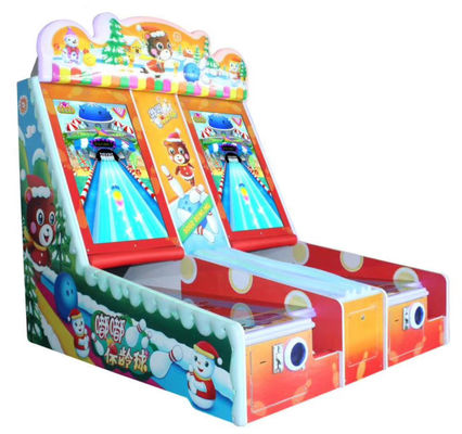 Bowling Coin Operated Arcade Machines For Single And Double Player  50HZ