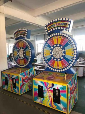 China Lucky Turning Coin Operated Arcade Machines Attractive high incomes and popular factory